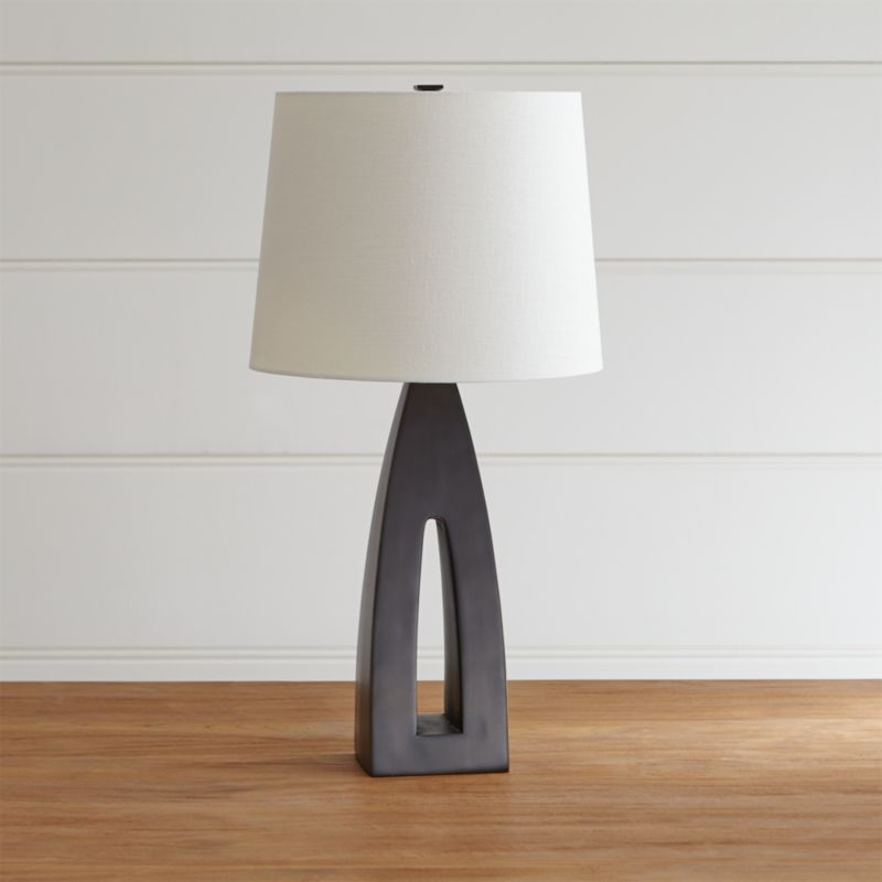 Sylvan table lamp reviews crate and barrel aloadofball Choice Image