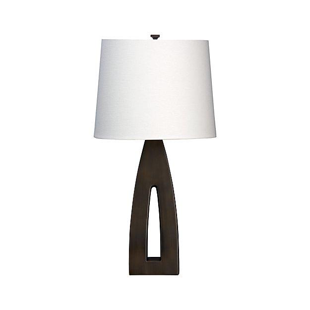 Sylvan table lamp crate and barrel for Sylvan app