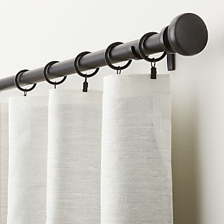 Silvana Ivory Silk Blackout Curtain Panel
