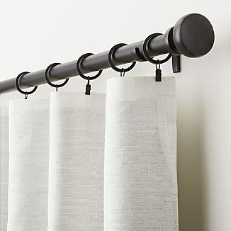 Silvana Ivory Silk Blackout Curtain Panel