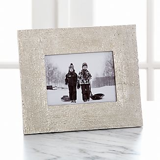"Silver Bark 5""x7"" Picture Frame"