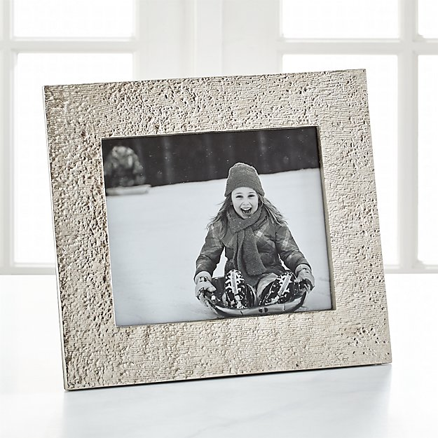 "Silver Bark 8""x10"" Picture Frame"