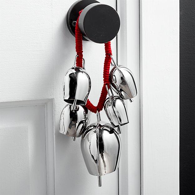 Silver Bell Door Swag - Image 1 of 3