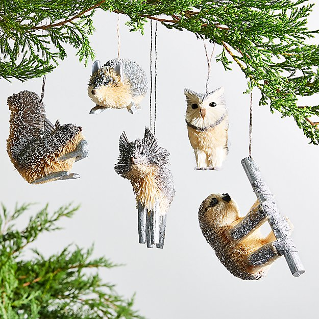 Silver Buri Animal Ornaments - Image 1 of 1
