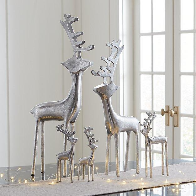 Silver Reindeer - Image 1 of 12