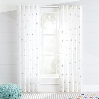 Kids Curtains Hardware Bedroom Nursery Crate And Barrel