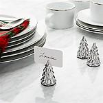 Silver Tree Place Card Holder