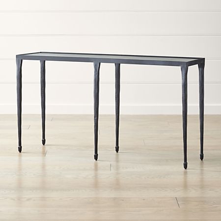 Silviano Iron Console Table Reviews