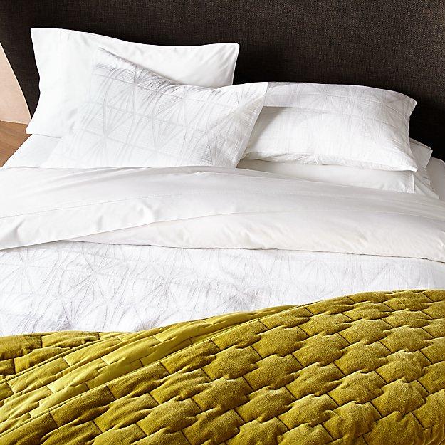 Silvio Matelasse Duvet Covers and Pillow Shams - Image 1 of 4