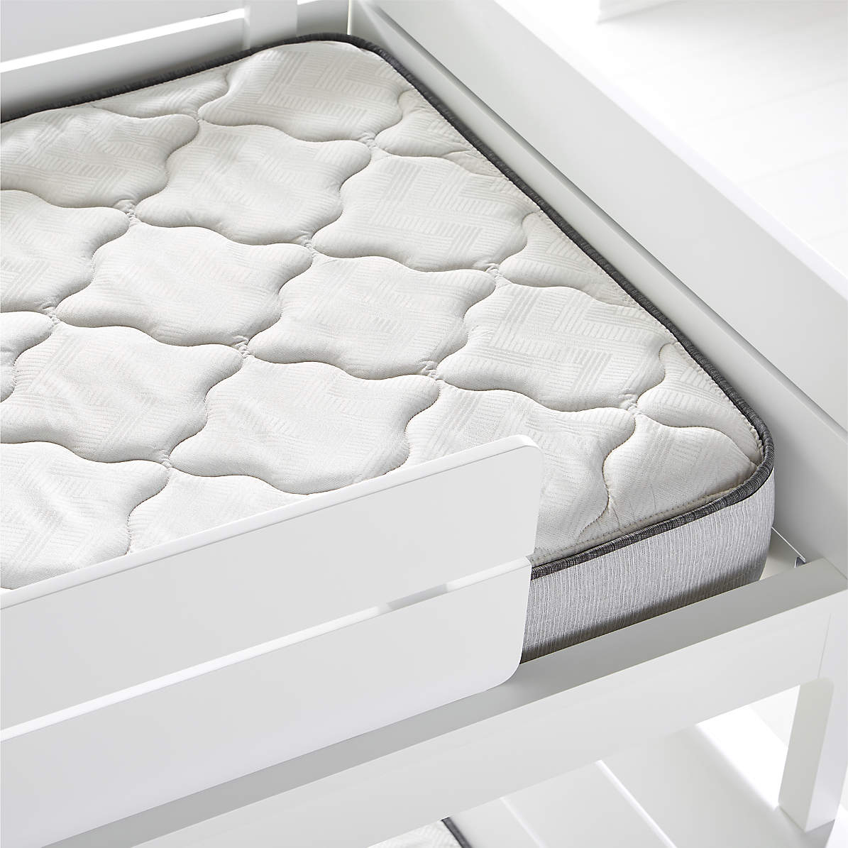 Picture of: Simmons Bunk Bed Mattress Crate And Barrel
