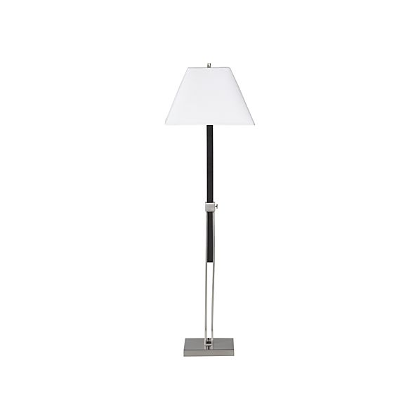 Simon Brushed Nickel Floor Lamp