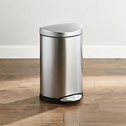 Simplehuman 30 Liter 8 Gallon Stainless Steel Rectangular
