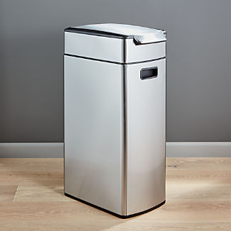 Simplehuman 40 Liter 10 5 Gallon Slim Touch Bar Trash Can