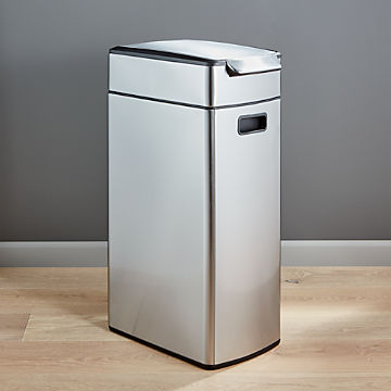 Trash Cans for Kitchen   Crate and Barrel