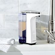 simplehuman ® White Compact Sensor Soap Dispenser