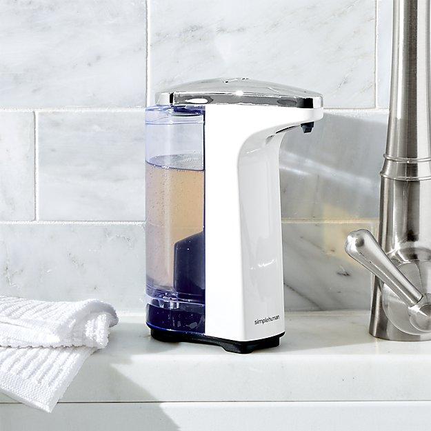Simplehuman White Compact Sensor Soap Dispenser Reviews