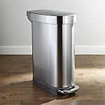 simplehuman 45-Liter Slim Trash Can