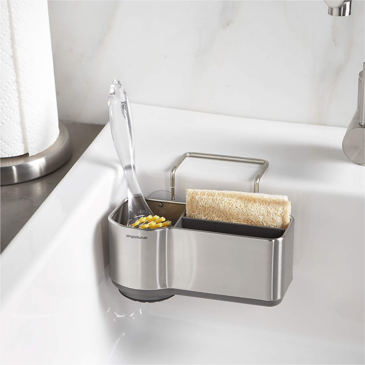 Simplehuman Sink Caddy Reviews Crate And Barrel