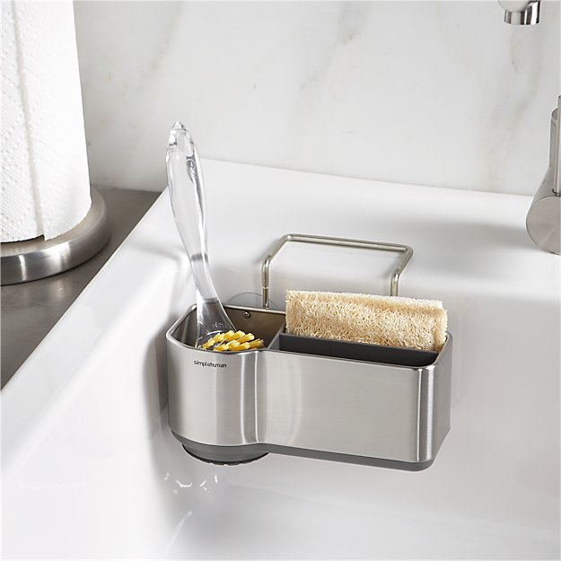 simplehuman Sink Caddy | Crate and Barrel