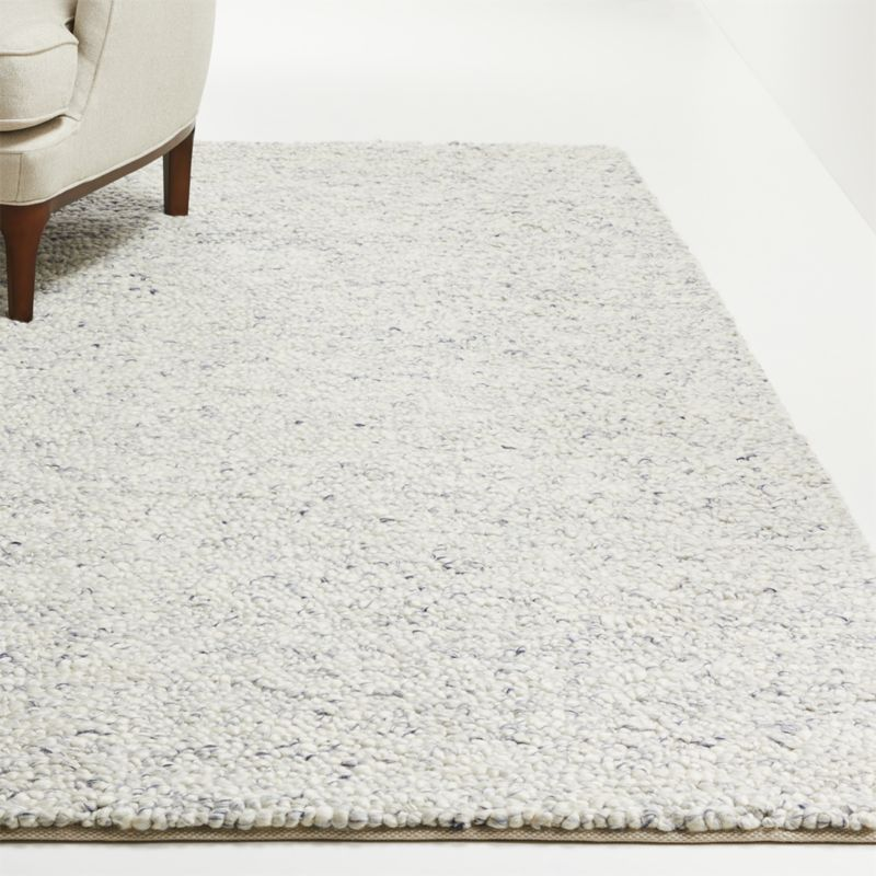 Siora Plush Wool Rug Crate And Barrel