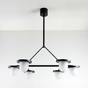 Kitchen Lighting Fixtures Lamps Pendants More Crate And Barrel
