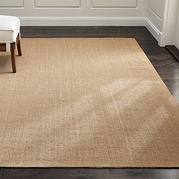 Sisal Almond Rug Crate And Barrel