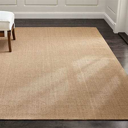 Sisal Almond Rug Crate And Barrel Canada