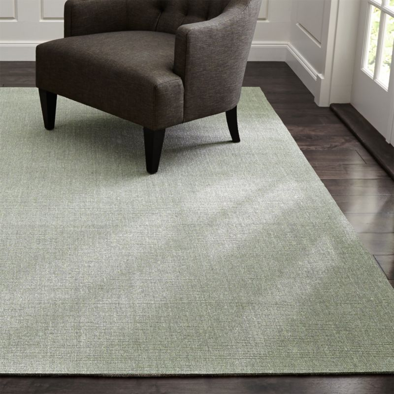 Sisal Dove Grey Rug Crate And Barrel