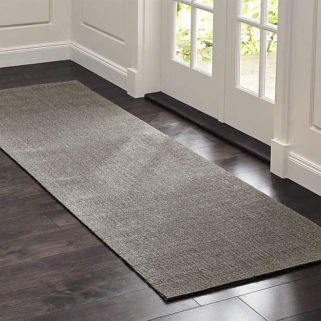 Sisal Grey 2 5 X8 Rug Runner Crate And Barrel