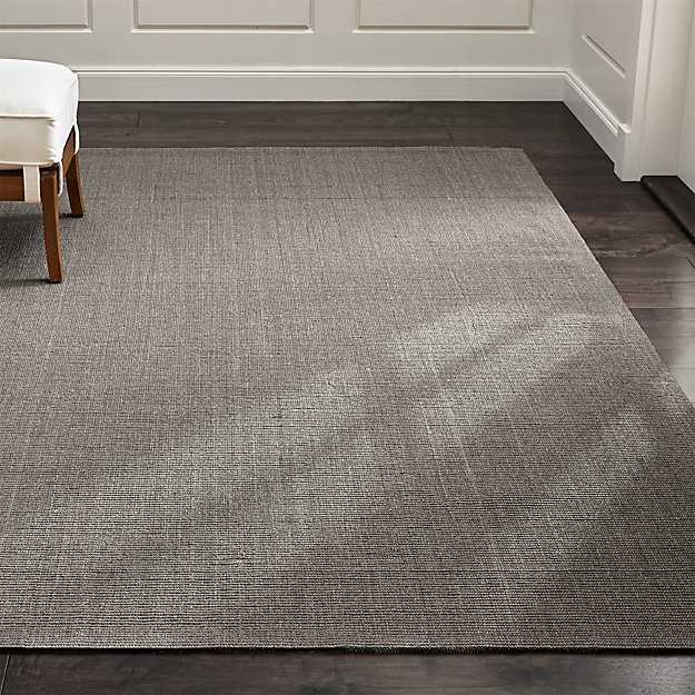 Sisal Grey Rug Crate And Barrel