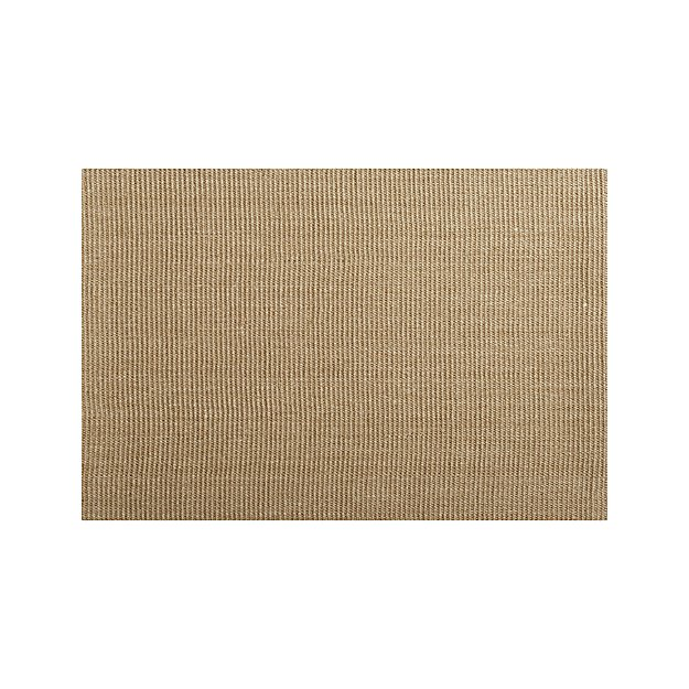 Sisal Almond 8 X10 Rug Reviews Crate And Barrel