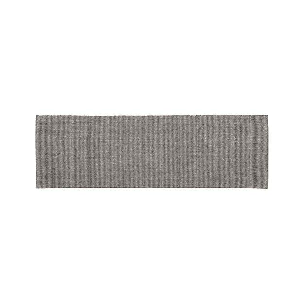 Sisal Grey 2.5'x8' Rug