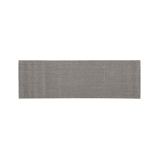Sisal Grey Rug 2.5'x8' - Image 1 of 2