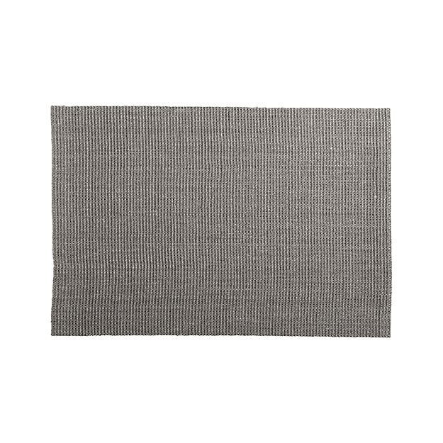 Sisal Grey Rug 8 X10 Reviews Crate And Barrel