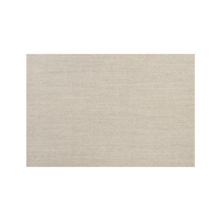 Sisal Linen 8 X10 Rug Reviews Crate And Barrel