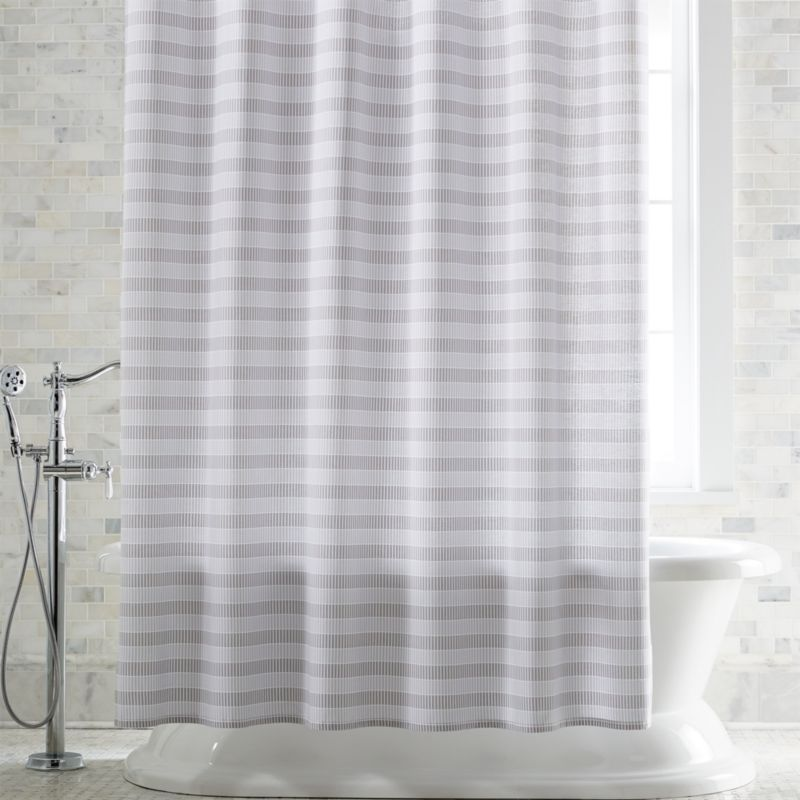 grey shower curtain liner. Skyline Grey Shower Curtain Curtains  Rings and Liners Crate Barrel