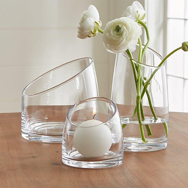 Slant Glass Vessels - Image 1 of 11