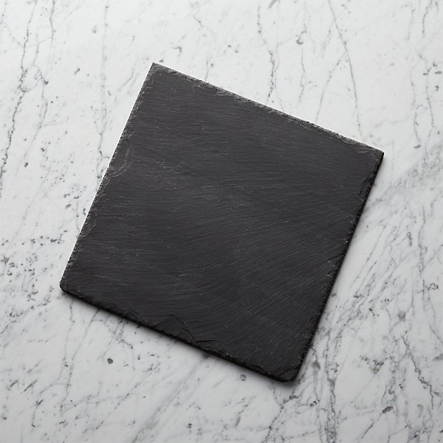 "Slate 12""x12"" Cheese Board"