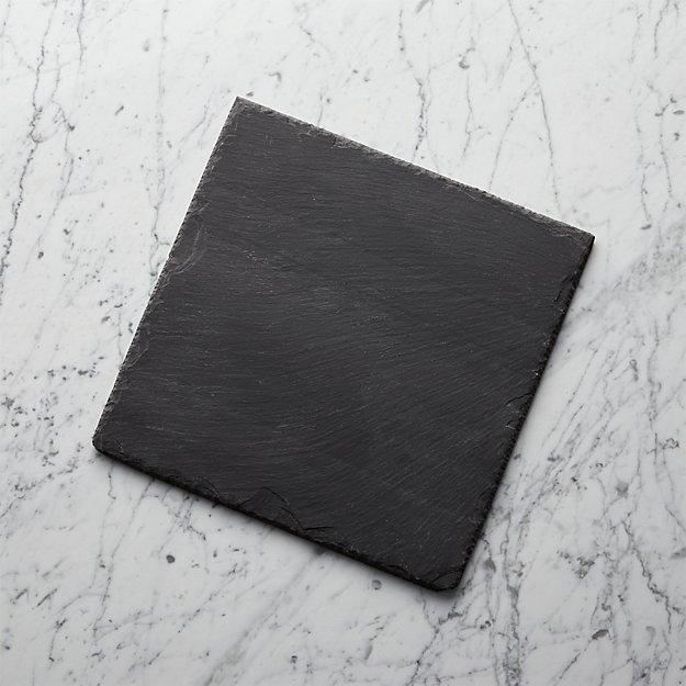 "Slate 12""x12"" Cheese Board - Image 1 of 13"