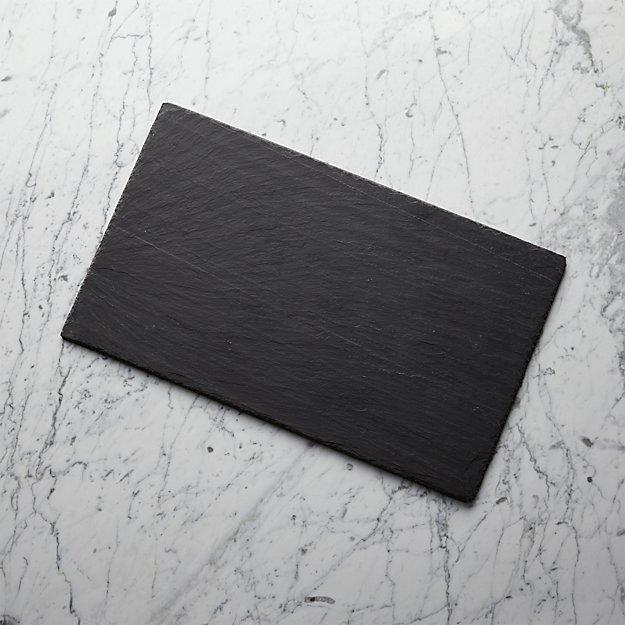 "Slate 20""x12"" Cheese Board - Image 1 of 13"