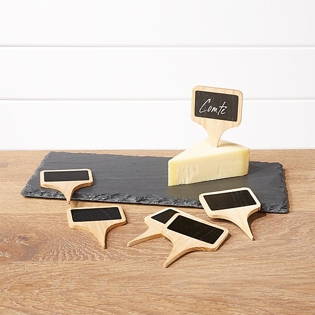 Slate Cheese Board And Cheese Markers Set Reviews
