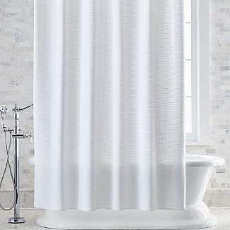 Slater Jacquard Shower Curtain