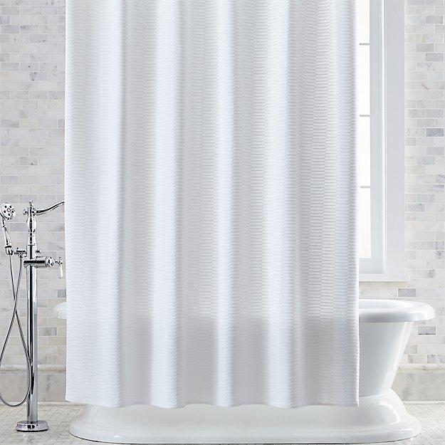 Slater Jacquard Shower Curtain - Image 1 of 2