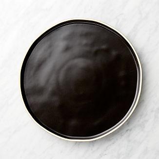Sloan Black Dinner Plate