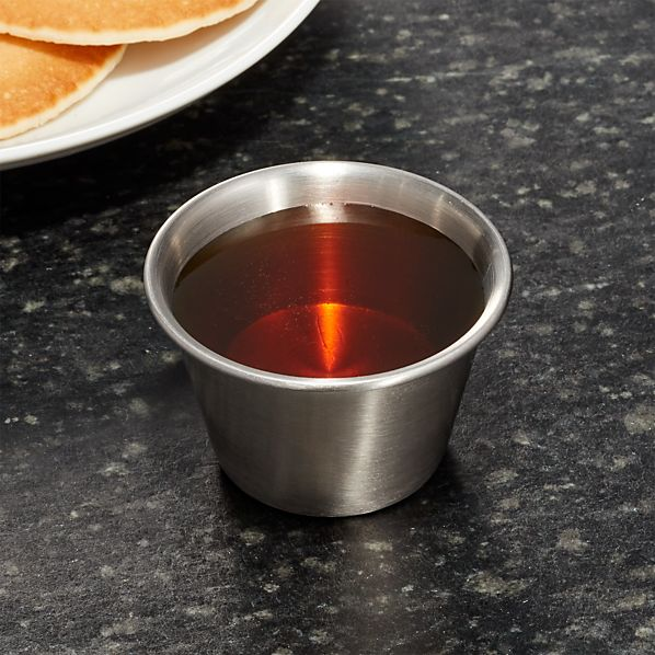 Stainless Steel Small Condiment-Prep Cup