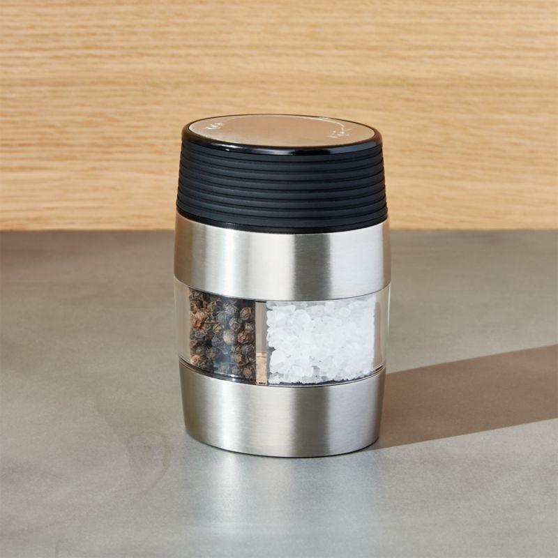 Dual Salt And Pepper Grinder Reviews Crate And Barrel
