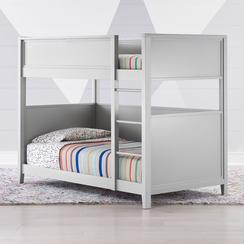 Small Space Twin Bunk Bed Reviews Crate And Barrel