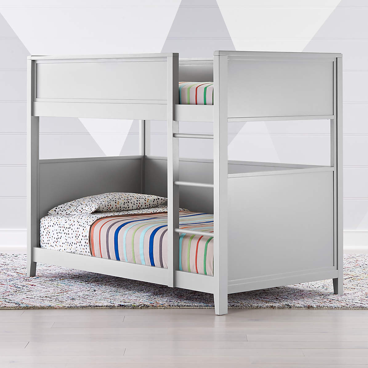 Picture of: Small Space Twin Bunk Bed Reviews Crate And Barrel Canada
