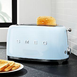 Smeg Pastel Blue 4-Slice Toaster