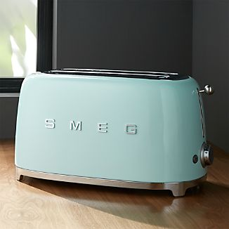 Smeg Mint Green 4-Slice Toaster